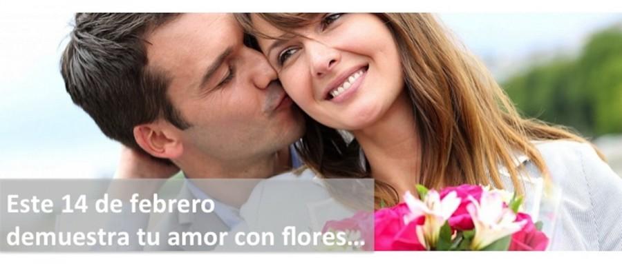Flores a Domicilio Día de los Enamorados
