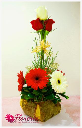 Arreglo Floral Rustico