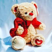 oso 30 cm amor