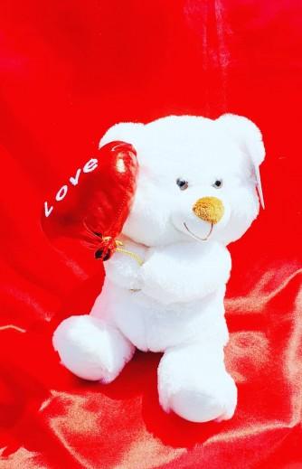 oso blanco love 27 cm